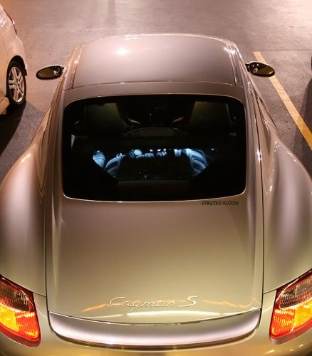Cayman Clear Engine Cover